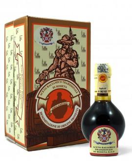 Aceto Balsamico Tradizionale di Modena DOP Affinato con astuccio in cartone 100 ml - Acetaia Malpighi