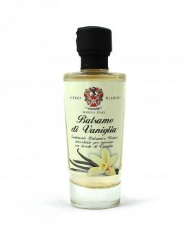 Condimento Balsamico Aromatizzato Balsamo Vaniglia - base bianca 100 ml - Acetaia Malpighi