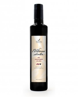 Olio L'Ultima Stretta, 100% Italiano Bottiglia da 100 ml - Olearia Santella
