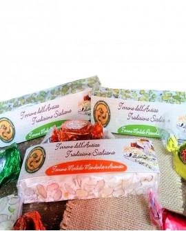 Torrone morbido pistacchio puro gr 150 Antico Torronificio Nisseno