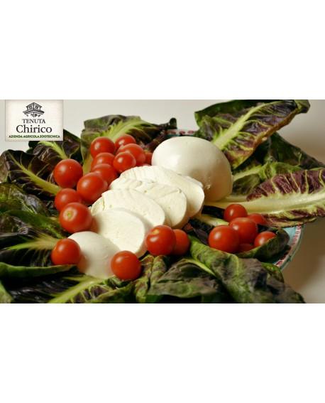 Mozzarella di latte di bufala 100% 500 g Caseificio Chirico