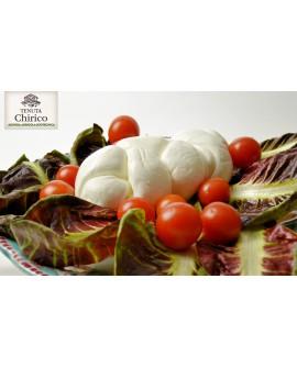 Treccia di latte di bufala 100% 500 g Caseificio Chirico