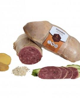 Salame cotto d'oca di Vigevano GOLIARDO 60 g - Oca Sforzesca