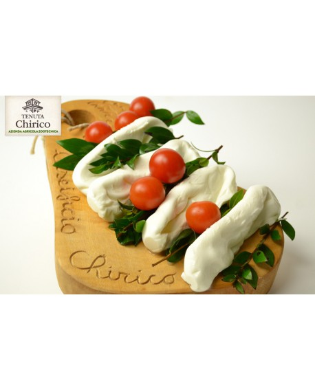 Mozzarella nella mortella (mirto) latte di mucca 250 g Caseificio Chirico