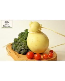 Caciocavallo - aromatizzato finocchietto 450-500 g - Caseificio Chirico