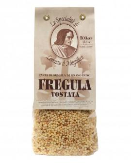Fregula Tostata 500 gr Lorenzo il Magnifico - pasta semola di grano duro - Antico Pastificio Morelli