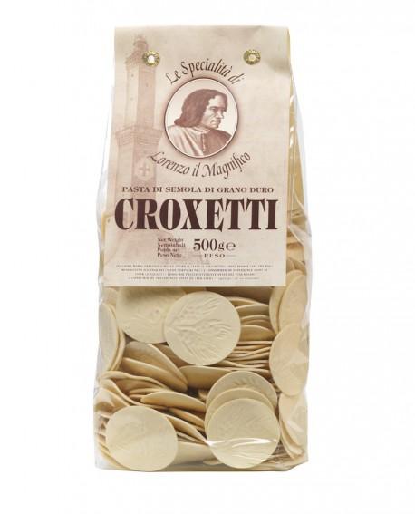Croxetti Lorenzo il Magnifico 500 gr - pasta semola di grano duro - Antico Pastificio Morelli