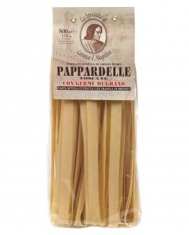Pappardelle 500 gr Lorenzo il Magnifico - pasta al germe di grano - Antico Pastificio Morelli