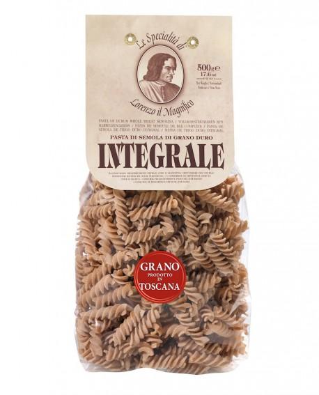 Fusilli integrali – Grano toscano 500 gr Lorenzo il Magnifico - pasta integrale - Antico Pastificio Morelli