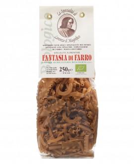 FARRO 100%  250 gr Lorenzo il Magnifico - Fantasia Pasta BIOLOGICA - Antico Pastificio Morelli
