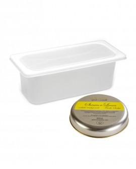 Sorbetto Limone Vaschetta 5lt / 3,5 kg - artigianale - La Via Lattea