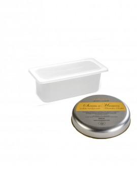 Sorbetto Mandarino Vaschetta 2lt - artigianale - La Via Lattea