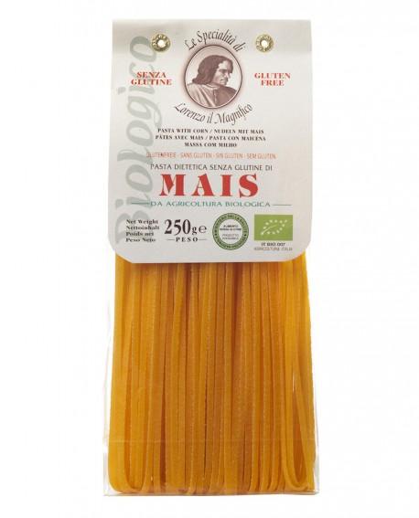 MAIS Linguine senza glutine 250 gr Lorenzo il Magnifico - Pasta BIOLOGICA - Antico Pastificio Morelli