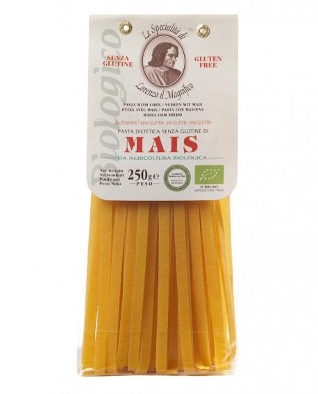MAIS Tagliatelle senza glutine 250 gr Lorenzo il Magnifico - Pasta BIOLOGICA - Antico Pastificio Morelli