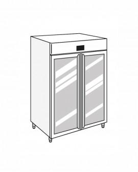 Armadio frigorifero Stagionatore 1500 GLASS Salumi - STG ALL 1500 GLASS S ADV - Refrigerazione - Everlasting