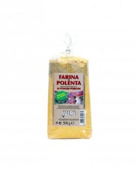 Farina polenta precotta ai funghi porcini 500 g - Valpi