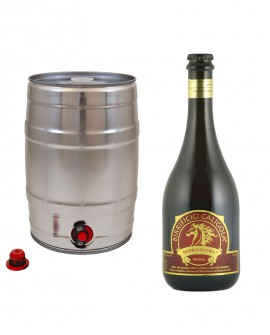 Birra Domus Patris - Rossa - Fusto da 20 litri - Birrificio Caligola
