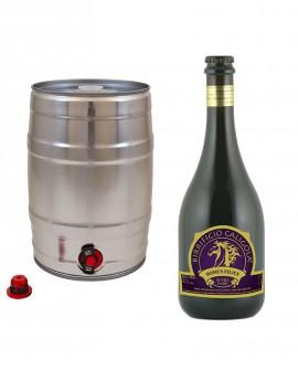 Birra Domus Filius - Nera - Fusto da 20 litri - Birrificio Caligola