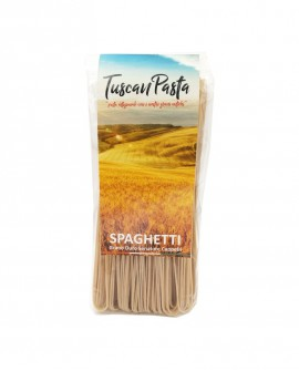 Spaghetti - Pasta Artigianale di Grano Antico Senatore Cappelli (macinato a pietra) - 500 g - Podere San Bartolomeo
