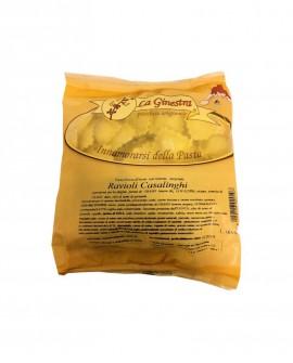 Ravioli Casalinghi - 1 kg pasta fresca all'uovo ripiena SURGELATA - Pastificio La Ginestra