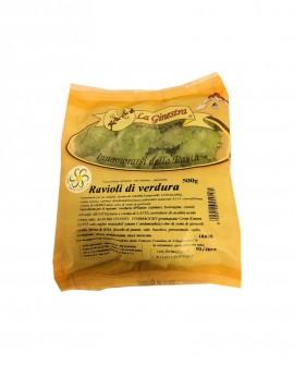 Ravioli di Verdura - 500 g pasta fresca all'uovo ripiena SURGELATA -  Pastificio La Ginestra