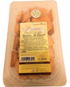 Ravioloni alla zucca - 1 kg pasta fresca all'uovo ripiena SURGELATA - Pastificio La Ginestra
