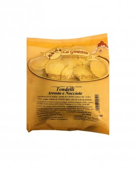Tondelli arrosto e nocciole - 1 kg pasta fresca all'uovo ripiena SURGELATA - Pastificio La Ginestra