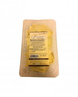 Ravioloni al branzino - 500 g pasta fresca all'uovo ripiena SURGELATA Pastificio La Ginestra