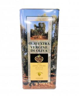 L'Eccellente Olio Extravergine di Oliva 100% italiano - Lattina 5 litri - Gli Orti di Guglietta