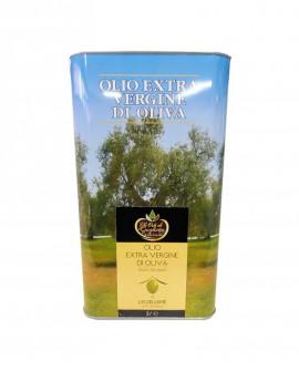 L'Eccellente Olio Extravergine di Oliva 100% italiano - Lattina 3 litri - Gli Orti di Guglietta