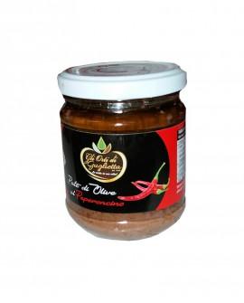Patè di Olive al Peperoncino 180 g - Gli Orti di Guglietta