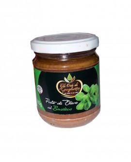 Patè di Olive al Basilico 180 g - Gli Orti di Guglietta