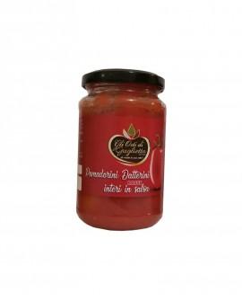 Pomodorini datterini rossi interi in salsa - Vaso da 350 g - Gli Orti di Guglietta