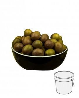 Olive Gaeta - Itrana Verdi in salamoia - Secchiello plastica 5 kg - Gli Orti di Guglietta