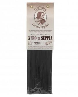 Nero Di Seppia Spaghetti  Lorenzo il Magnifico 500 gr Pasta Aromatizzata - Antico Pastificio Morelli