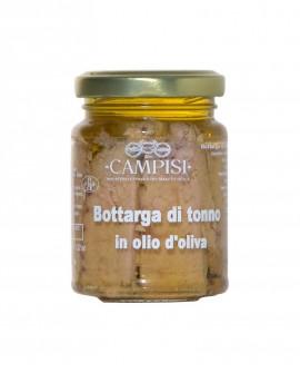 Bottarga di Tonno in Olio di Oliva - vaso vetro 100 g - Campisi