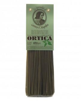Ortica Tagliolini  Germe di Grano Lorenzo il Magnifico 250 gr Pasta Aromatizzata - Antico Pastificio Morelli