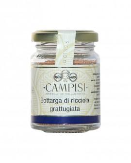 Bottarga di Ricciola grattugiata - vaso vetro 50 g - Campisi