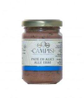 Patè di Alici alle Erbe - vaso vetro 150 g - Campisi