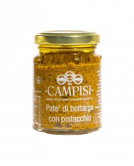 Patè di Bottarga con Pistacchio - vaso vetro 90 g - Campisi