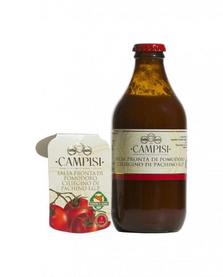 Salsa pronta di Pomodoro Ciliegino di Pachino IGP - bottiglia 33 cl - Campisi