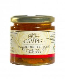 Pomodoro Ciliegino di Pachino semisecco IGP sotto'olio - vaso vetro 220 g - Campisi