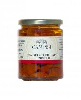 Pomodoro Ciliegino semisecco sott'olio - vaso vetro 280 g - Campisi