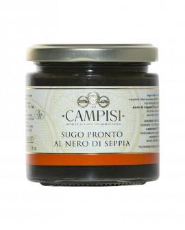 Sugo pronto al Nero di Seppia con pomodoro ciliegino - vaso vetro 220 g - Campisi