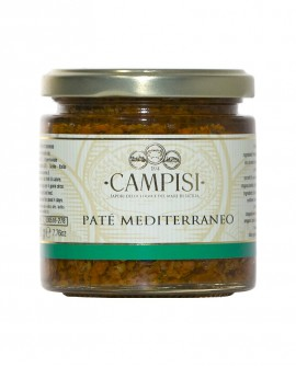 Patè Mediterraneo - vaso vetro 220 g - Campisi