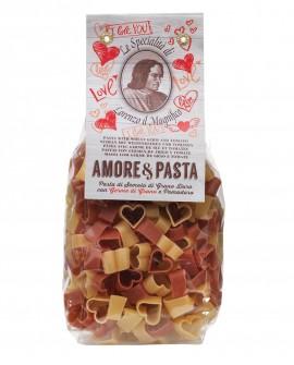 Germe di Grano e Pomodoro Cuori Lorenzo il Magifico 250 gr Multicolore - Antico Pastificio Morelli