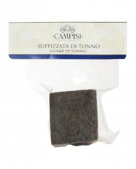 Suppizzata di Tonno salsiccia di tonno in busta sottovuoto - trancio a peso variabile - Campisi