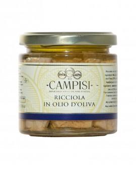 Ricciola in Olio di Oliva - vaso vetro 220 g - Campisi