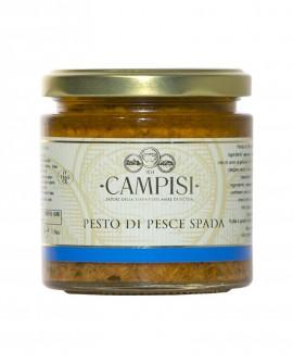 Pesto di Pesce Spada - vaso vetro 220 g - Campisi