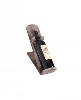 PORTA-BOTTIGLIA HÉRITAGE legno inclinato. lungh. 10 x prof. 26 x alt. 35 cm - RET Mobili in legno
